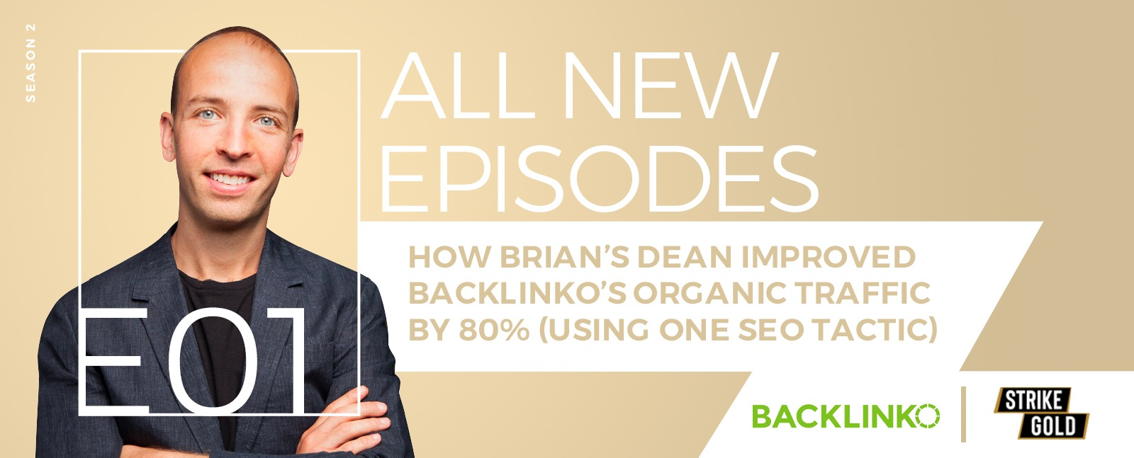 How Brian's Dean improved Backlinko's organic traffic by 80% (using one SEO tactic)