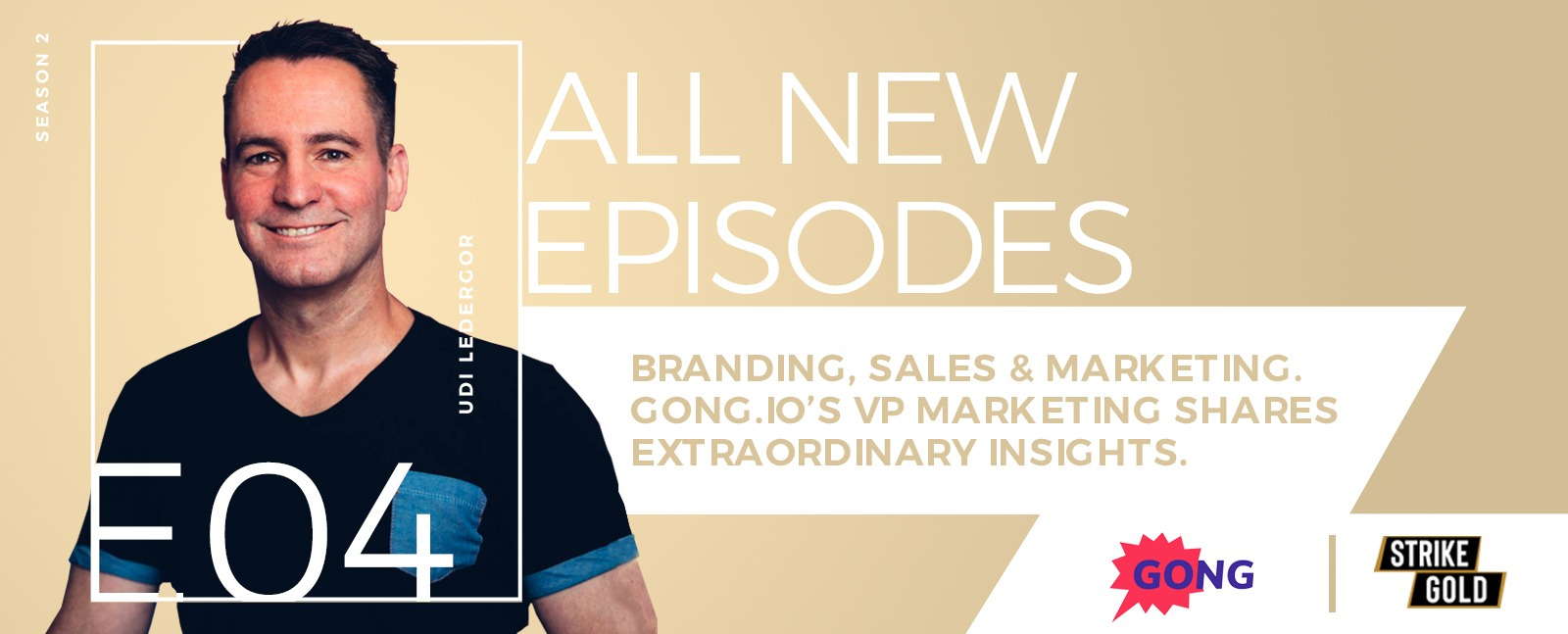 Branding, Sales & Marketing. Gong.io's VP Marketing Shares Extraordinary Insights.
